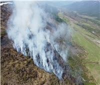 مقاطعة روسية تعلن حالة الطوارئ العامة بسبب حرائق كبيرة في الغابات
