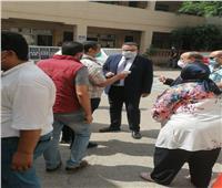 جولة لنائب رئيس جامعة الإسكندرية للتأكد من الالتزامبالإجراءات الاحترازية