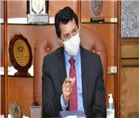 صبحي يترأس إجتماع المكتب التنفيذي لمجلس وزراء الشباب والرياضة العرب
