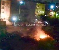 مواطنو السلام يشتكون من حرق القمامة ليلاً