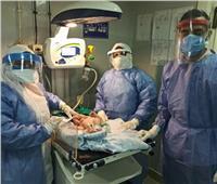 مستشفى المنيرة العام تجري 3 «ولادات قيصرية» لمصابات بـ«كورونا» خلال ٢٤ ساعة