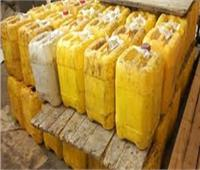 ضبط 4 طن من زيت الصويا مجهولة المصدر بالقناطر الخيرية