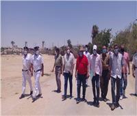 استرداد عدد من أملاك الدولة بمدينة رأس سدربجنوب سيناء