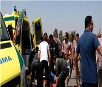 إصابة 3 شقيقات وطفل في حادث مروري أمام جامعة جنوب الوادي بقنا