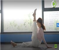 فيديو| صينية عمرها 78 عاما تمارس الرقص بمرونة فريدة