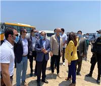 وزيرا التنمية المحلية والاسكان يصلان محافظة دمياط لتفقد بعض المشروعات التنموية