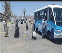 صور  وصول 1036 مصريا لمينائي سفاجا ونويبع عائدين من السعودية والأردن