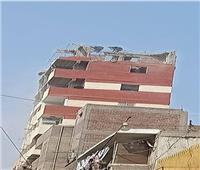 نائب محافظ القاهرة يقود حملة لإزالة الأدوار المخالفة بالوايلي