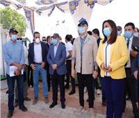 وزيرا التنمية المحلية والإسكان يتابعان مشروع محطة معالجة صرف صحي رأس البر
