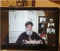 البابا تواضروس يلتقي كهنة الإسكندرية