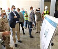 محمد سعفان يتفقد مبنى وزارة القوى العاملة بالعاصمة الإدارية الجديدة