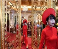 تكلفة بنائه ٢٠٠ مليون دولار.. أول فندق مطلي بالذهب في فيتنام| صور