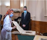 وزير السياحة والآثار يتفقد متحف المركبات الملكية ببولاق تمهيدا للافتتاح