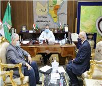 محافظ المنوفية يلتقي مسئول وزارة الزراعة لدعم المشروعات الصغيرة والمتوسطة
