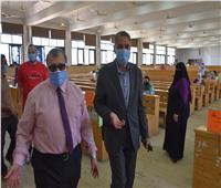 امتحانات التعليم المفتوح بتجارة السادات خالية من الإصابة بكورونا