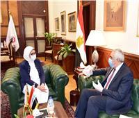 وزيرة الصحة: إتاحة جميع الخدمات الطبية والعلاجية للعراقيين المتواجدين بمصر
