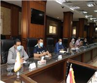 نائب محافظ سوهاج يترأس الاجتماع الرابع للجنة مراجعة تراخيص أعمال البناء