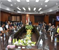 وزير الرياضة يلتقي الاتحاد المصري للدراجات النارية