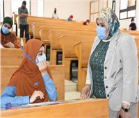 2331 طالب يؤدون الامتحانات بجامعة القناة