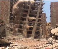 إزالة ٢٦ حالة بناء مخالف بالمراكز والأحياء في محافظة الجيزة