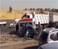 مصرع 5 أفراد صدمتهم سيارة بـ«إقليمى المنوفية»