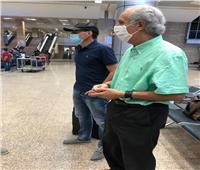 بالصور  «فايلر» يصل القاهرة لاستكمال مسيرته مع الأهلي