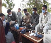 مسح صحي شامل لقرية طفنيس بالأقصر بالجهود الذاتية