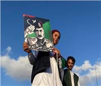 ردود أفعال واسعة عقب مظاهرات الليبيين في بني غازي لدعم المشير حفتر