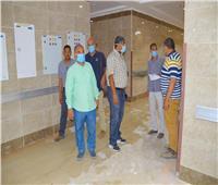 رئيس جهاز مدينة سوهاج الجديدة يشهد إطلاق التيار الكهربائي بالمستشفى الجامعي