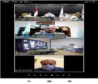 بالفيديو كونفراس.. اطلاق الخطة الإقليمية للتدريب الإلكتروني لشركات مياه الشرب والصرف الصحي