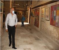 صور| رئيس التنمية الثقافية يتفقد قصر «طاز» ومتحف «أم كلثوم»