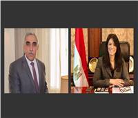 وزيرة التعاون تبحث مع السفير العراقي انخفاض أسعار النفط وجائحة كورونا