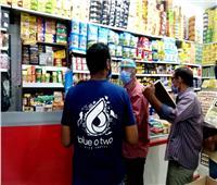 حملة مكبرة على الأسواق والمحلات بحي الصداقة في أسوان