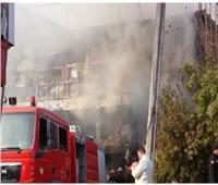 إصابة 4 عمال في حريق مصنع لمستحضرات التجميل بالعاشر من رمضان