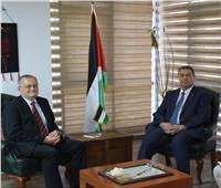 سفير فلسطين بالقاهرة يبحث معنظيره الروسي خطط الضم الإسرائيلية