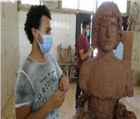 رئيس جامعة المنيا بـ«لجان الفنون الجميلة» لمتابعة سير العملية الامتحانية