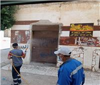 صور| تعقيم مساكن «البوسطة والهجانة» بالإسكندرية بعد اكتشاف حالات كورونا