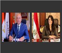 وزيرا التعاون الدولي والنقل يبحثان خطة النهوض بشبكة الطرق والمواصلات