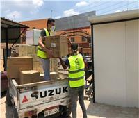 قافلة صندوق تحيا مصر تصل مستشفى الحميات بالقليوبية
