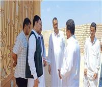 المصريين الأحرار يبحث شكاوى مواطني وادي الرمل بمطروح