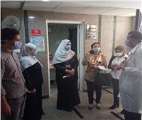 صور| جولة مفاجئة لمديرية الصحة بأسيوط على المستشفيات العامة