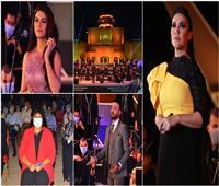 صور| مي فاروق وصابرين النجيلي وأحمد عفت نجوم أول ليالي عودة حفلات الأوبرا