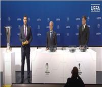 تعرف على نتائج قرعة ربع نهائي مسابقة الدوري الأوروبي