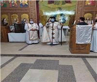 النائب البطريركي يزور كنيسة العذراء مريم بعين شمس في إطار الزيارات الرعوية