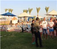 165 سائحاَ أوكرانياَ يغادرون مطار شرم الشيخ اليوم بعد انتهاء رحلاتهم السياحية