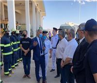 صور| وزير الطيران يتفقد مطاري شرم الشيخ وطابا