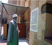 صور| جابر طايع يتابع مصلى السيدات بالسيدة زينب في اليوم الأول لعودته