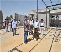محافظ أسيوط يتفقد أعمال تطوير مجزر ديروط الرئيسي ومركز الشرطة