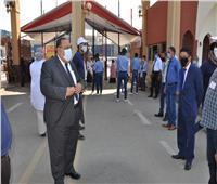 رئيس جامعة حلوان: انتظام وهدوء في امتحانات الفرق النهائية وسط إجراءات احترازية مشددة
