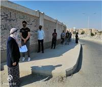 «حجازي» يتابع سير الامتحانات العملي للدبلومات الفنية وتعقيم اللجان